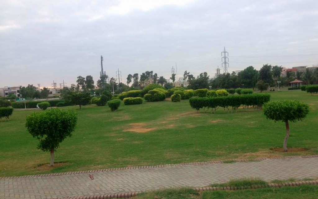 Location of Nisar Shaheed Park in DHA Phase 4