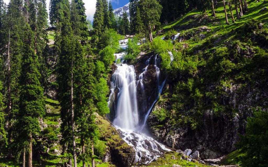 waterfalls in Swat Valley