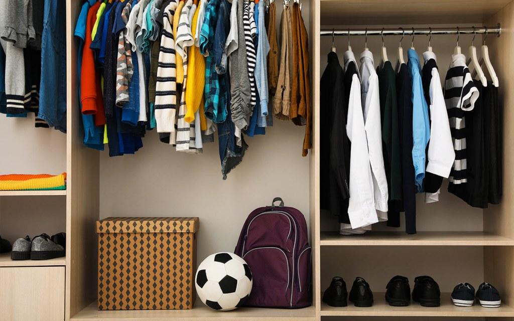 closet organizer for kids