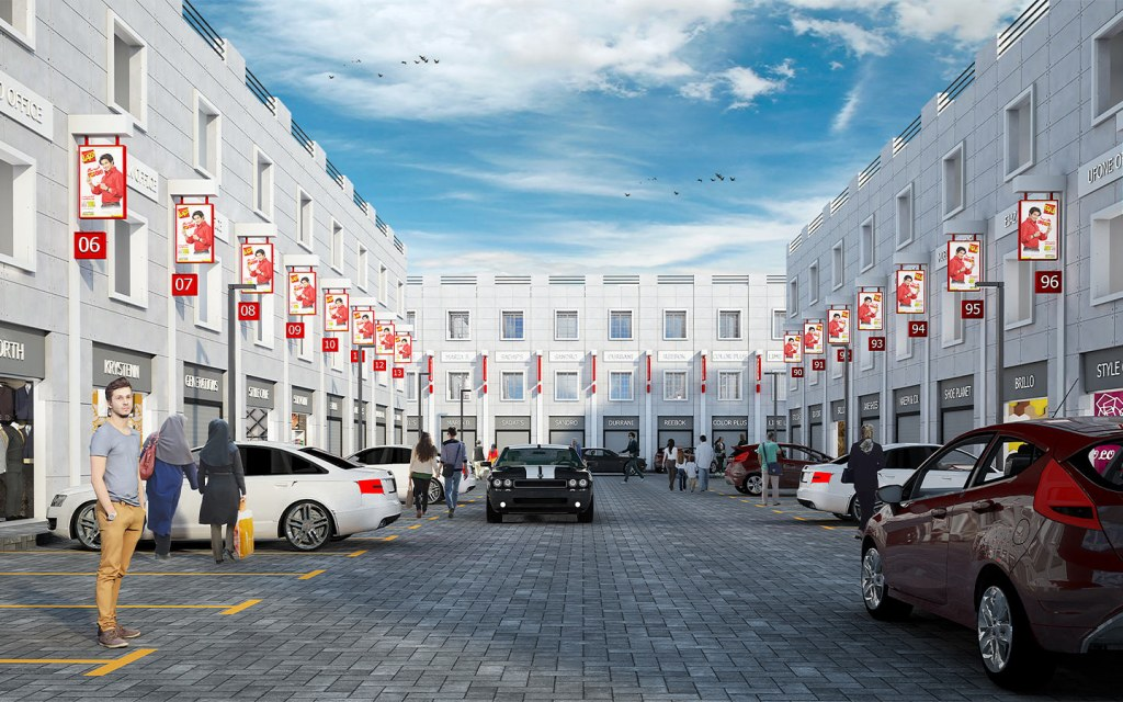 Features of Lyallpur Commercial Market Faisalabad