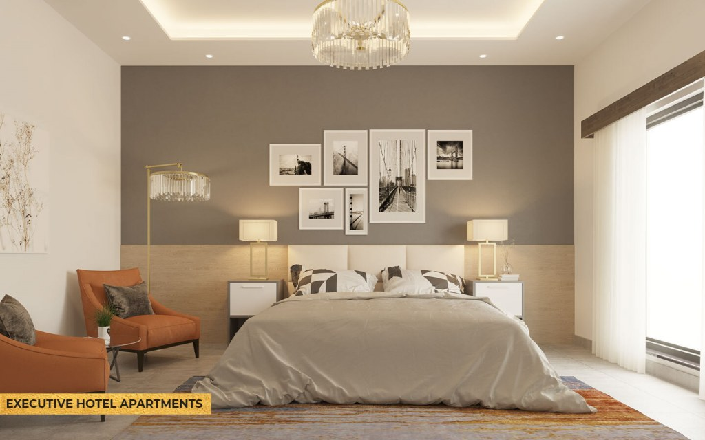 exclusive hotel apartments of Mall 35