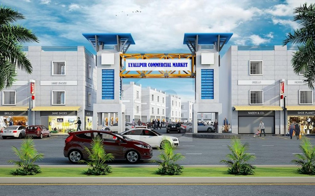 investing in commercial properties Lyallpur Commercial Market