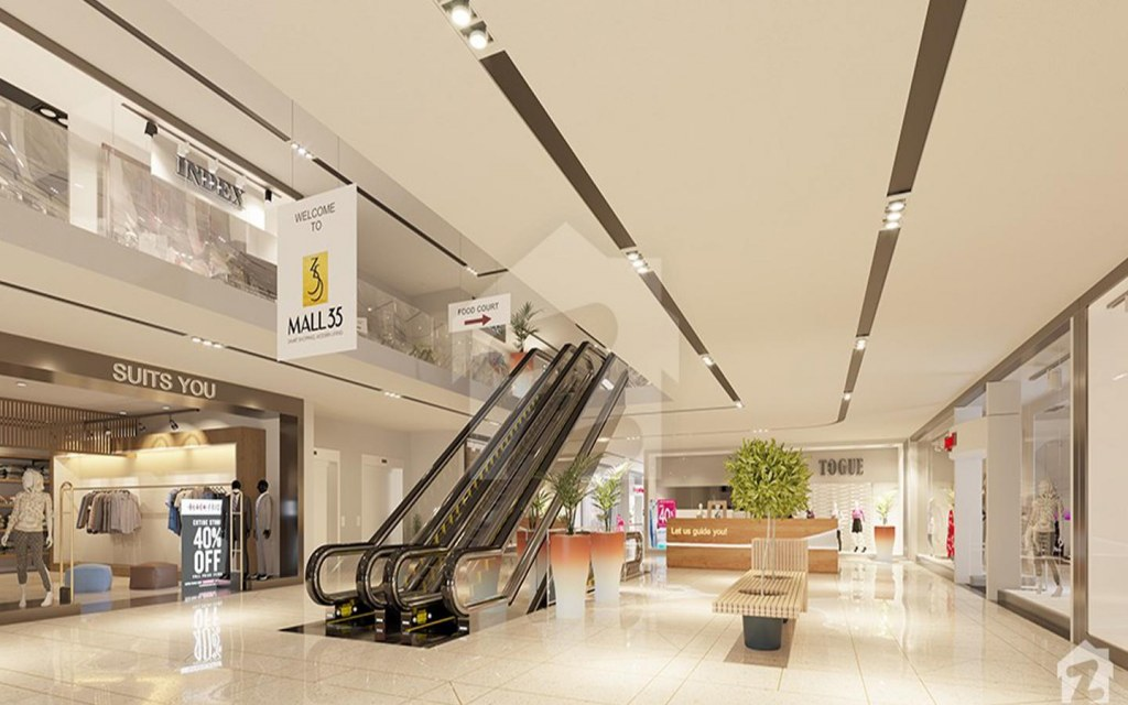 investing in commercial properties Mall 35