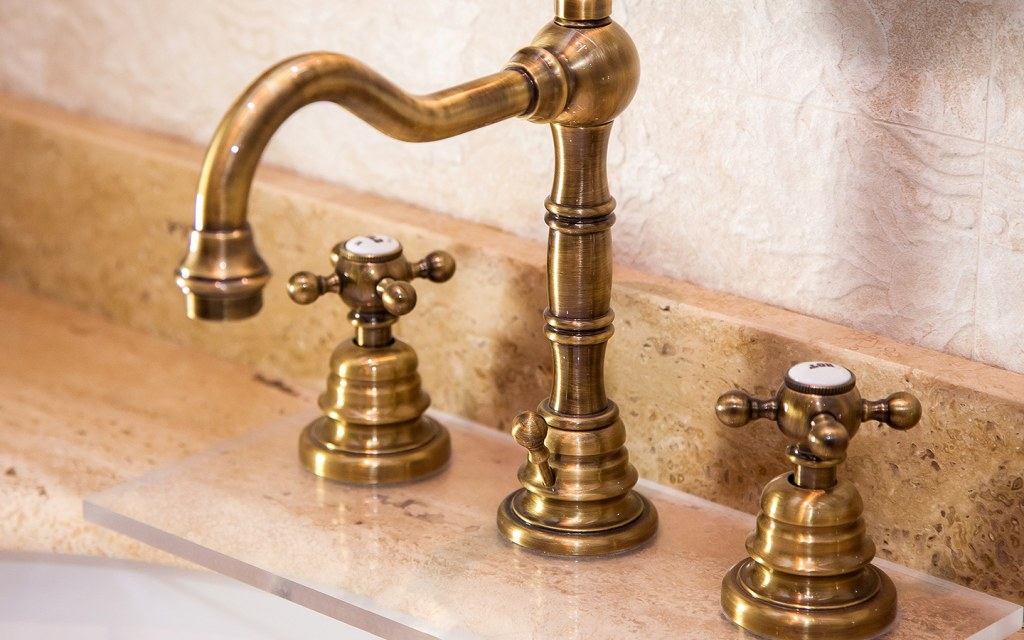 install copper and brass fixtures