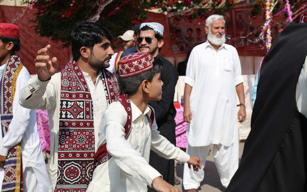 Lahooti Melo is a festival in Sindh
