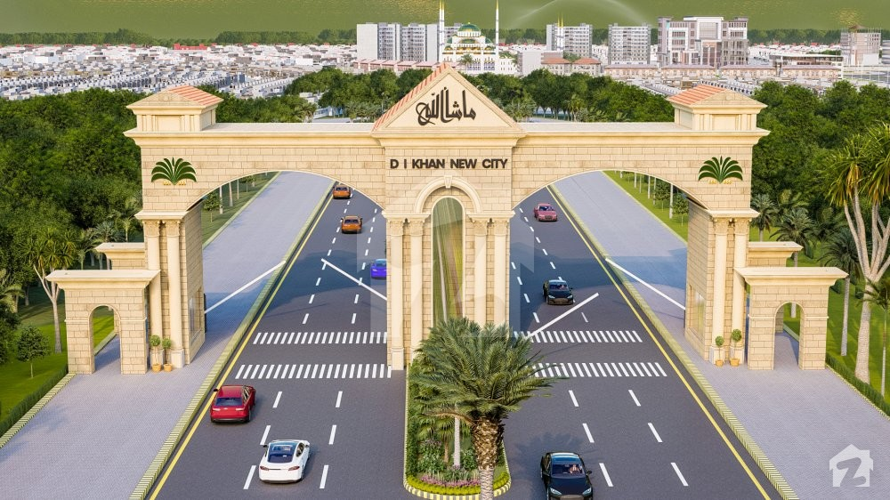 D.I Khan New City has carpeted roads and breath-taking landscapes