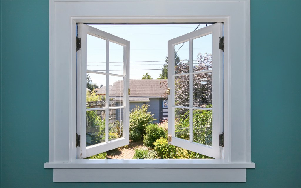 work on ways to ventilate your home