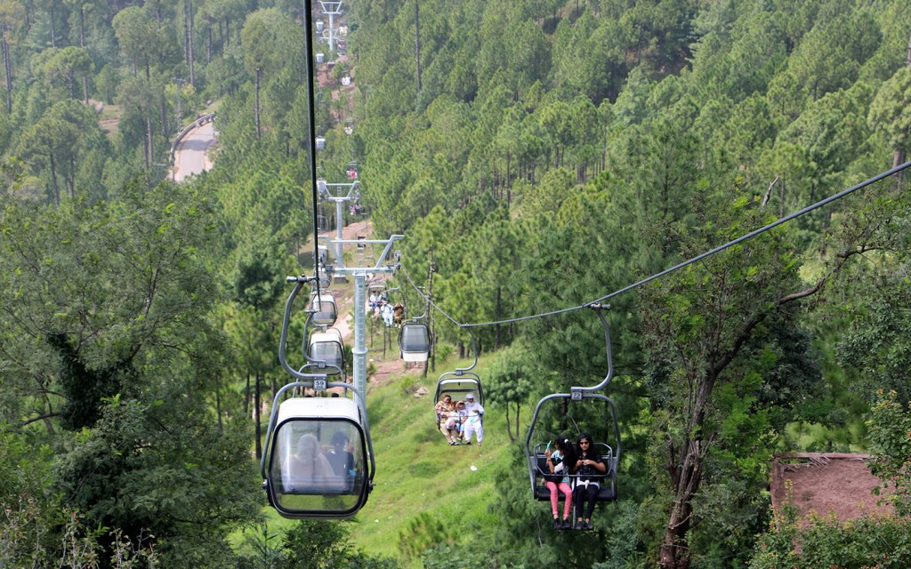 Ayubia National Park is famous for its picnic spots, and chairlift