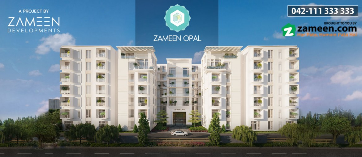 living in Zameen Opal