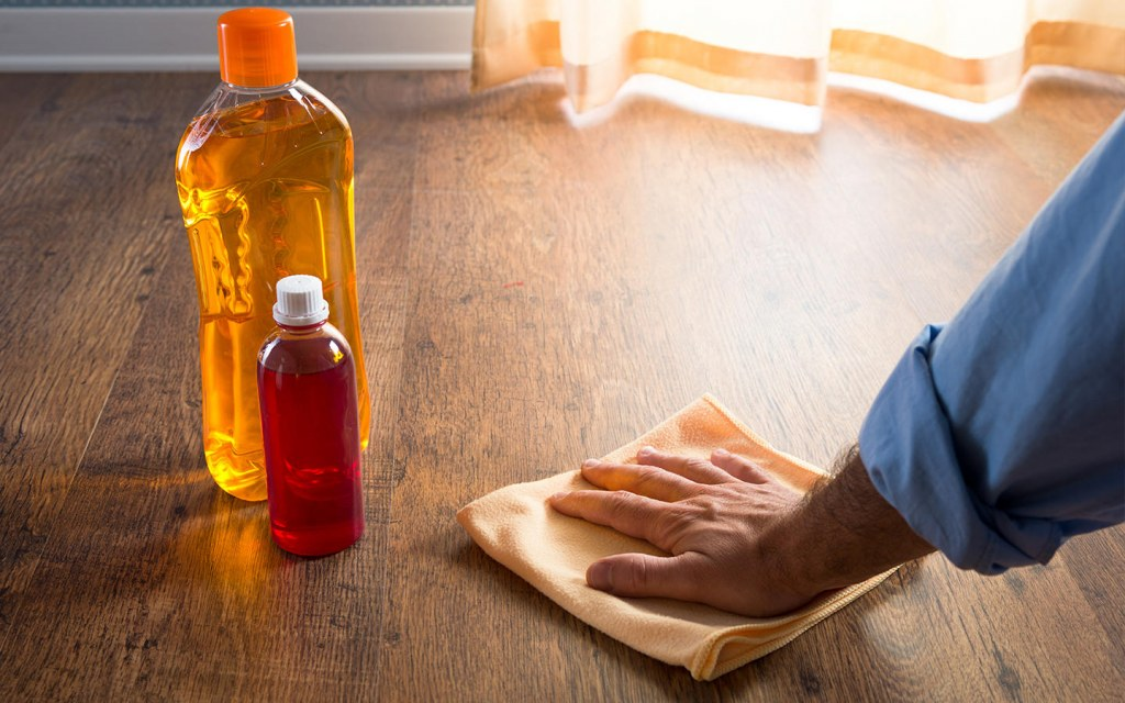 tips to clean paint off of hardwood floors