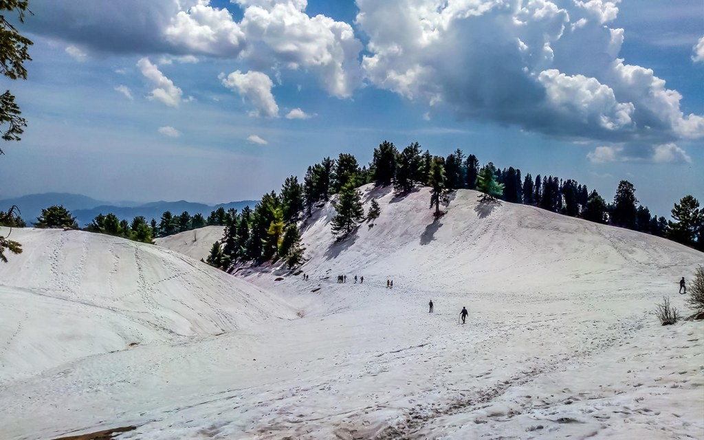 Thandiani is 9,020 feet above sea level and is the coldest area in Galiyat