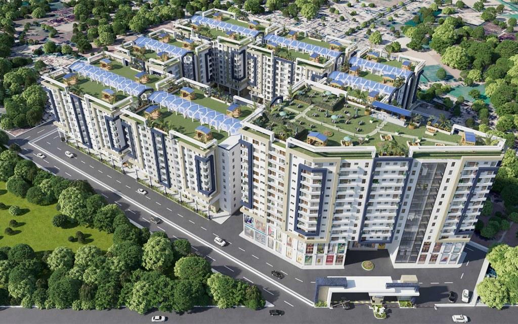 buy apartments in Al-Hayat Residencia off Raiwind Road