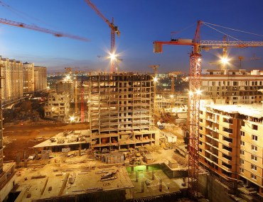 construction stages of high rise development