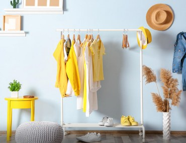 how to store clothes without a closet