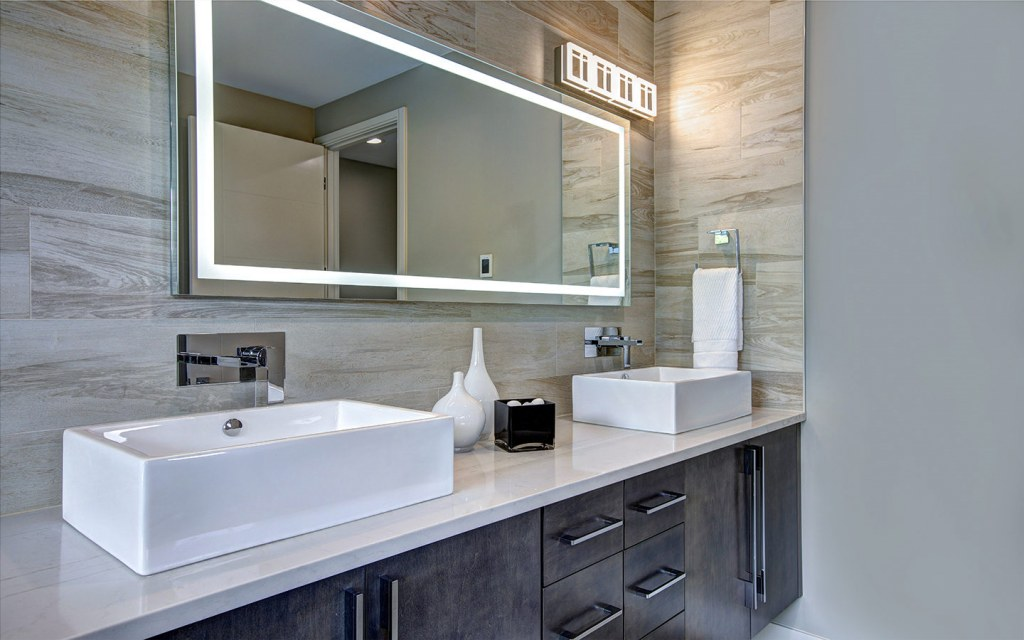 use vanity lights in your bathroom