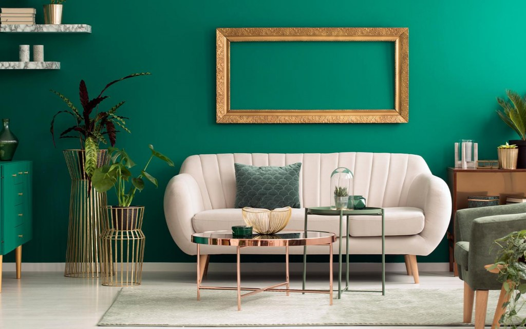 Home decorating trends for 2021: add a pop of color