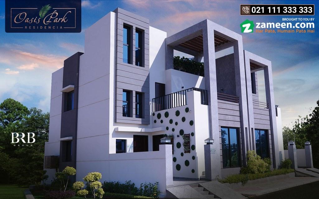 villas for sale in Oasis Park Residencia