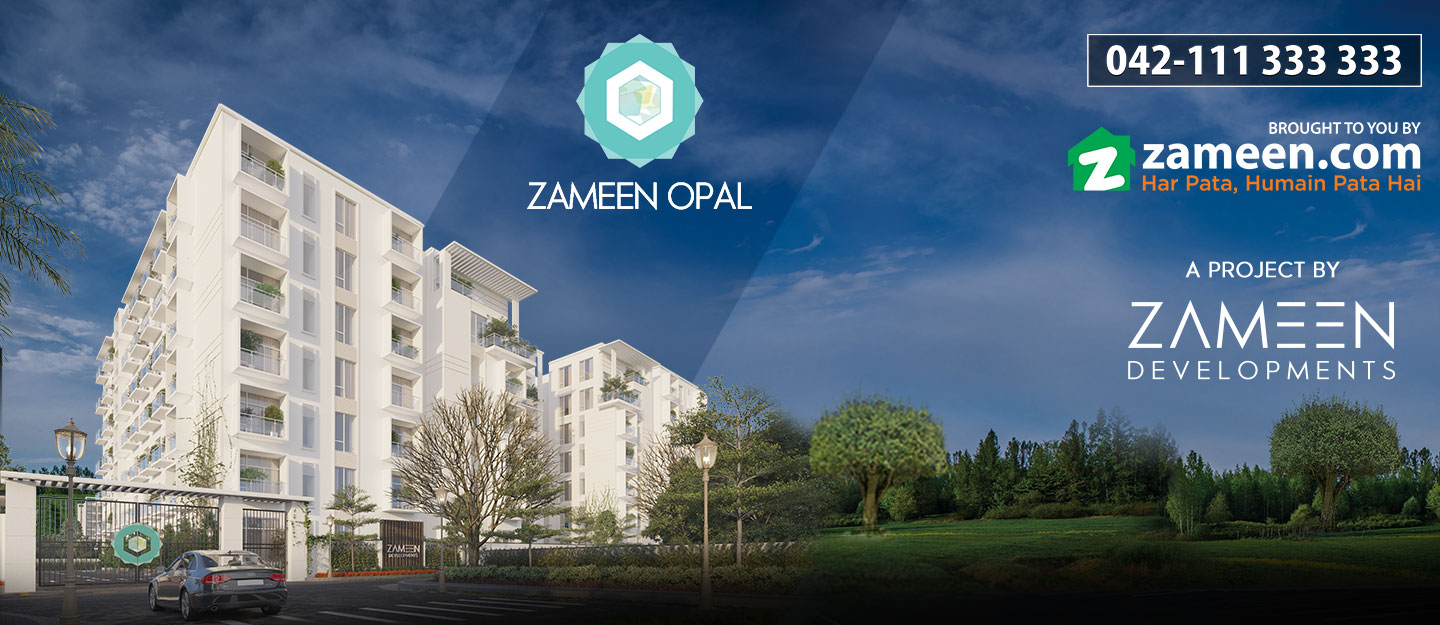 Apartment Features of Zameen Opal in Lahore