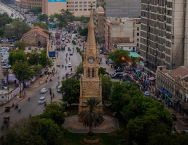 Exploring Burns road in Karachi