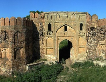 historical Attock Fort in Pakistan