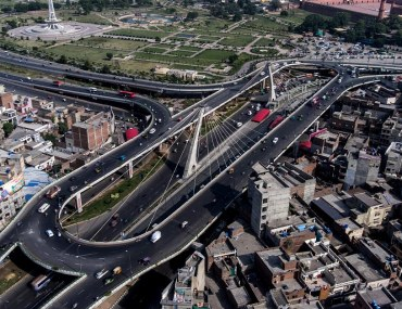 development of five new mega projects in lahore