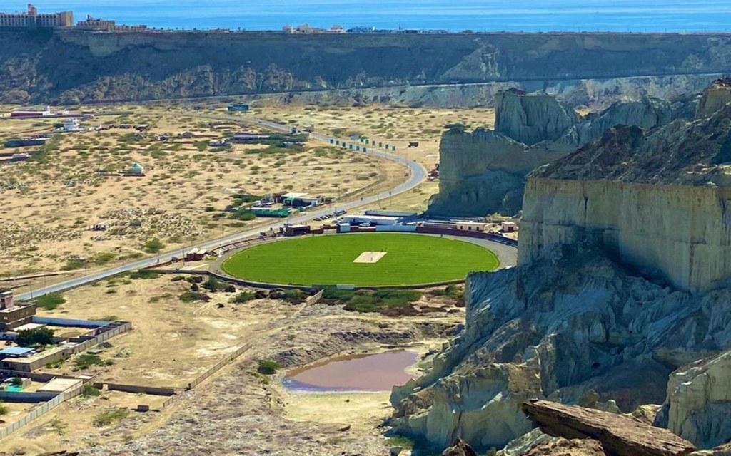 Cricket stadium in gwadar
