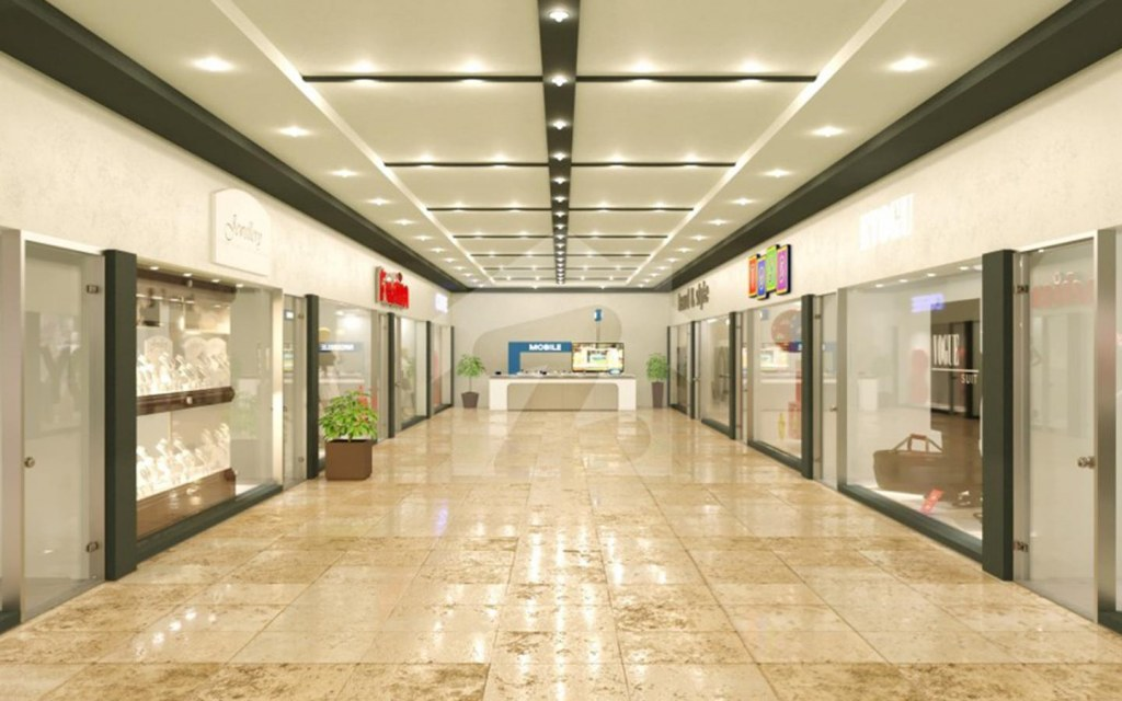 Dawood Heights features shops and apartments
