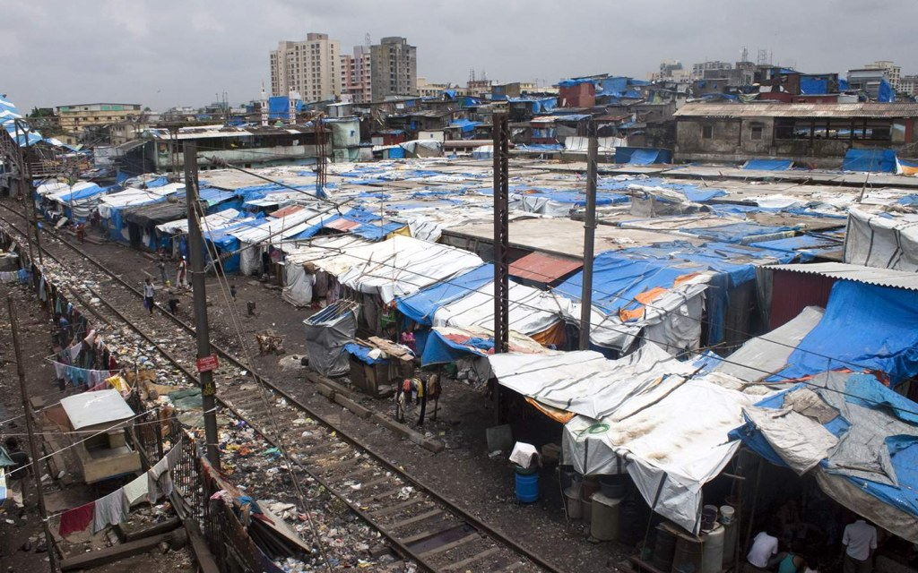 slums are a result of displacement and migration