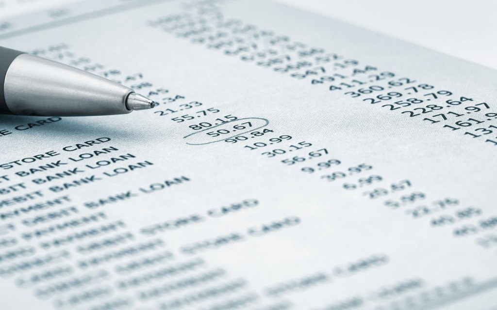 monitor your bank statement
