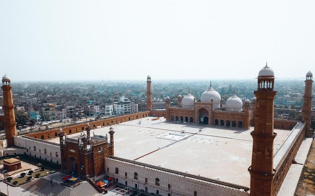 Badshahi mosque near Sheranwala gate