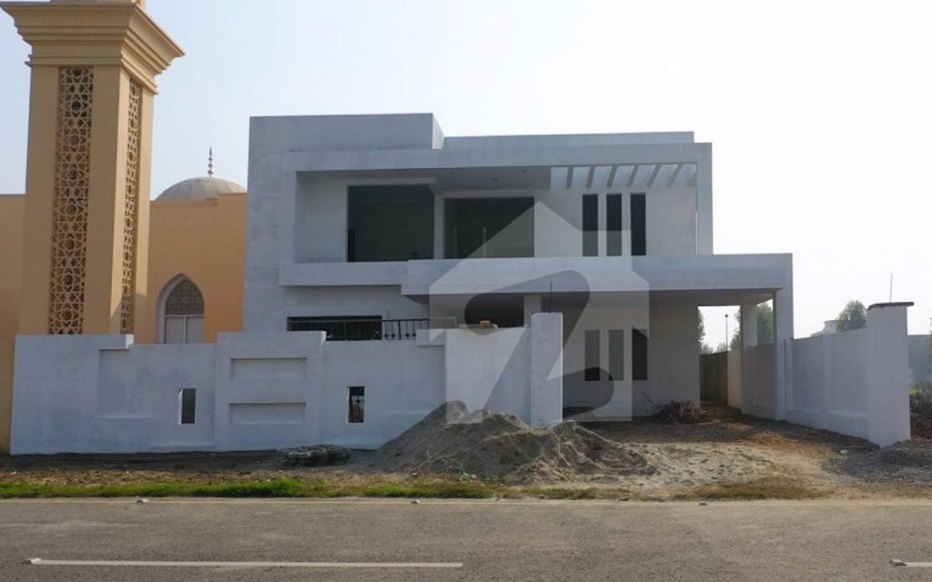 construction of houses in White Citi pasrur
