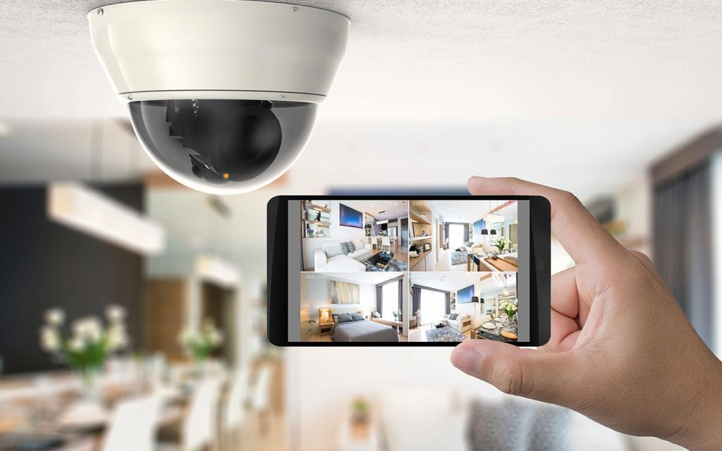 benefits of home security cameras