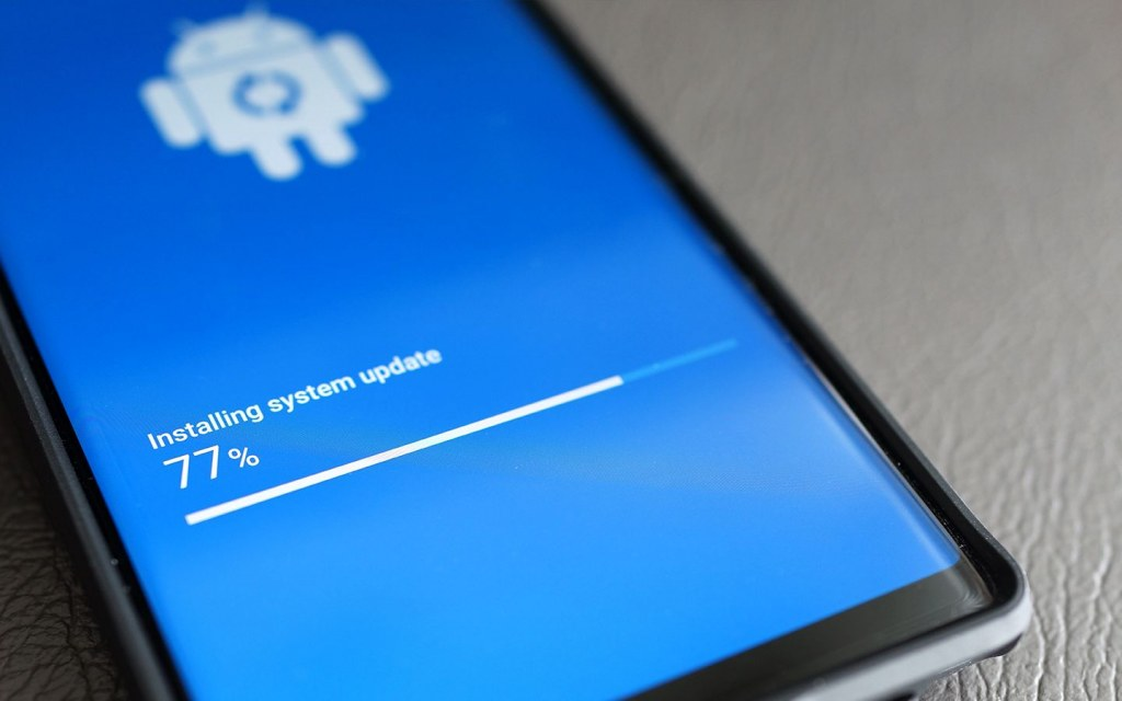 update your phone as a security measure for online banking