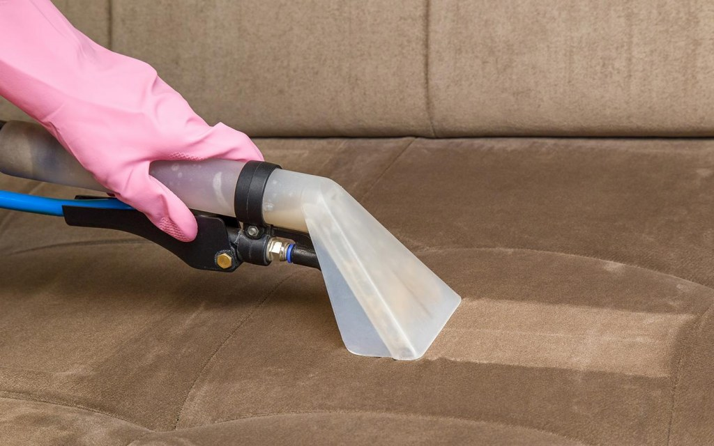deep clean upholstered furniture