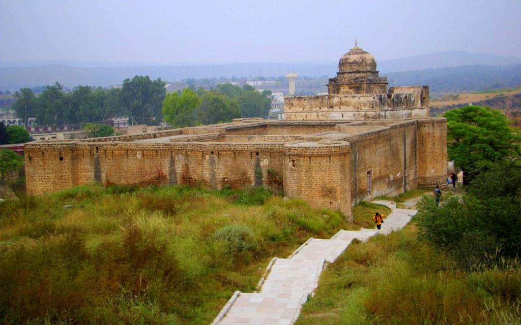 You can trail Nandana Fort via Al Beruni Radius
