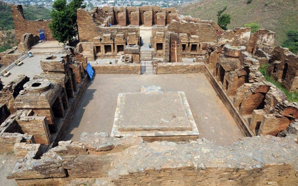 you can visit Takht-e-Babri through al beruni radius trail