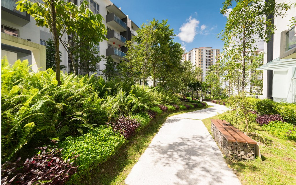 green spaces are important in densely populated areas