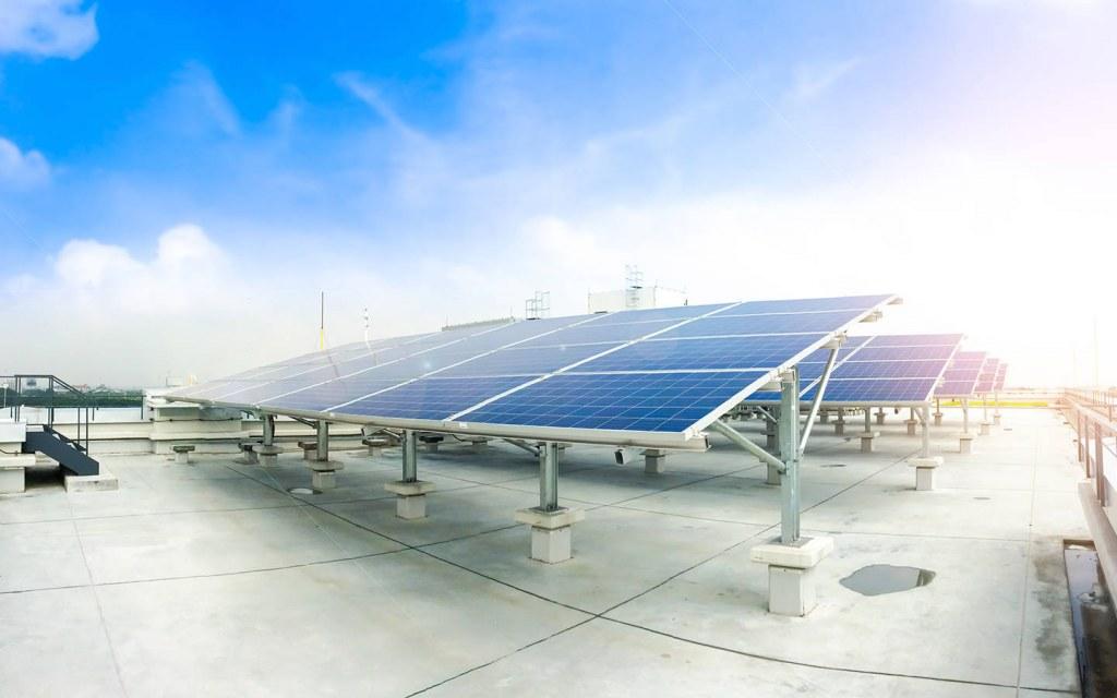 energy conservation through solar panels