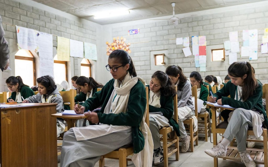 Hunza's literacy rate is one of the highest for girls