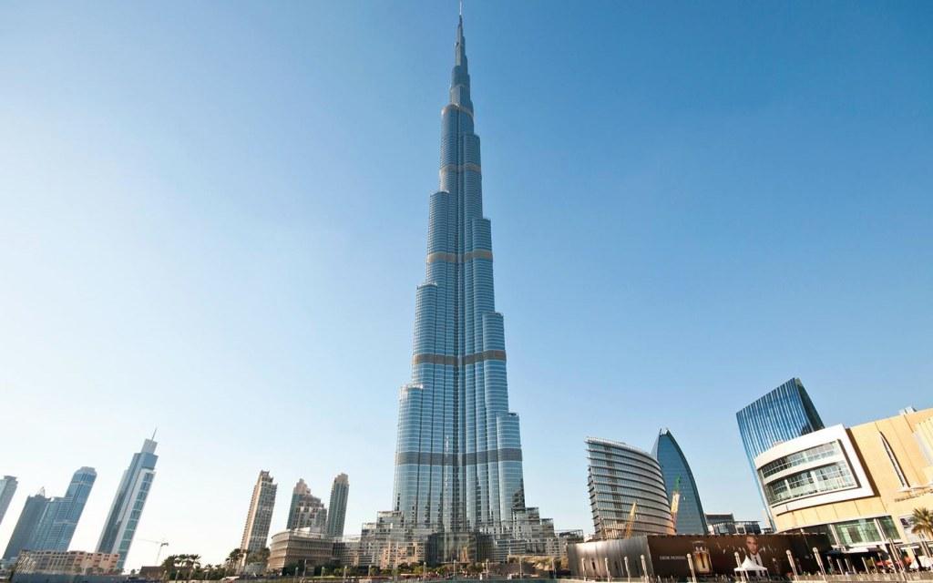 burj khalifa is located in Dubai