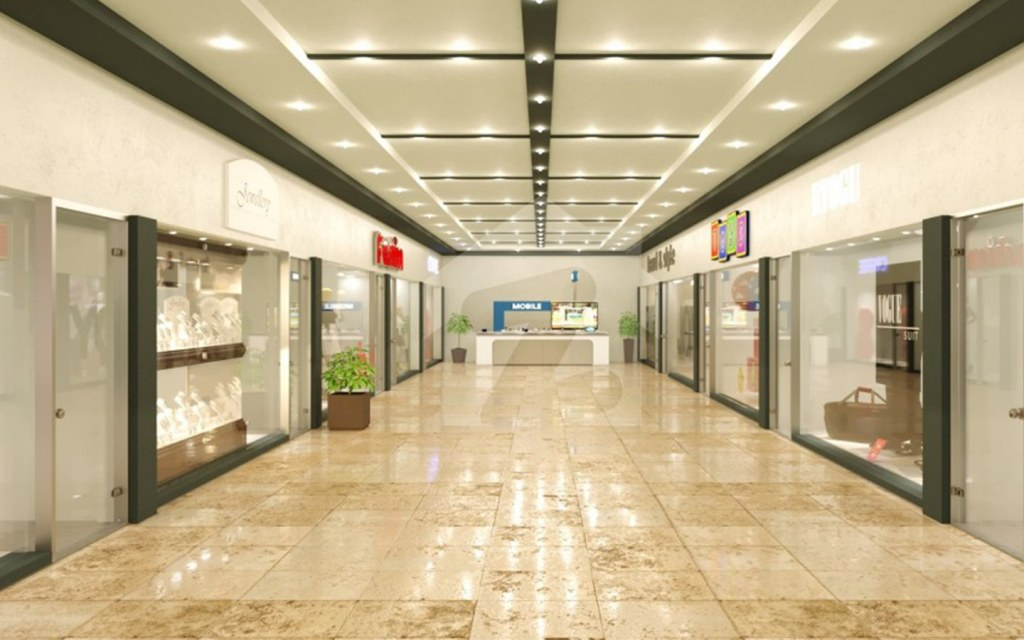 commercial outlets and and top notch facilities