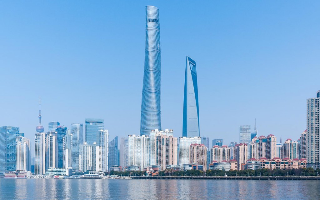 shanghai tower is the tallest building in china
