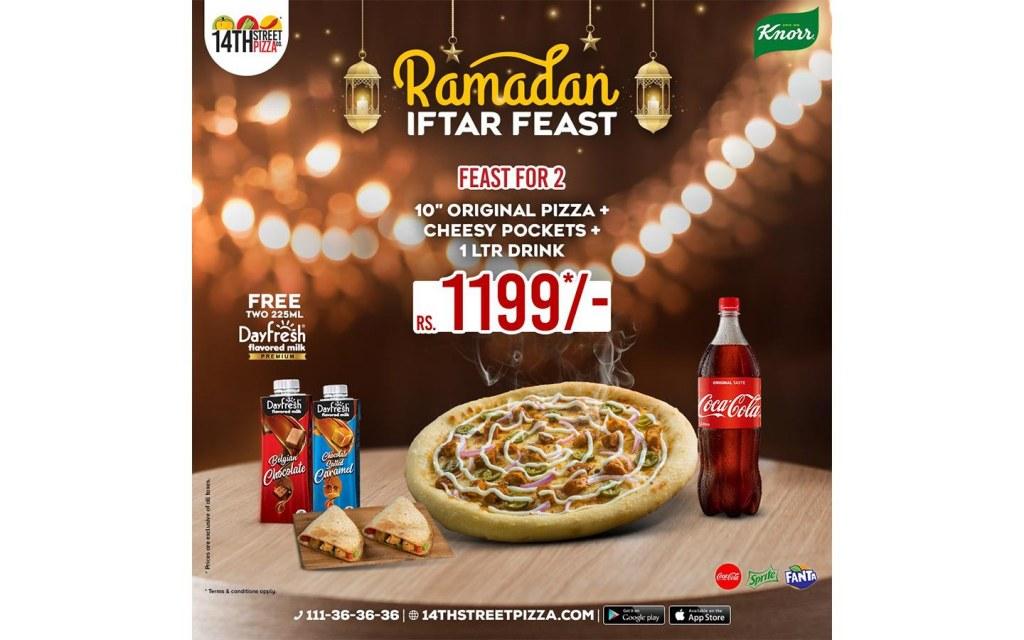 pizza deals in Ramadan 2021