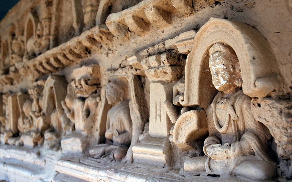Pakistan has numerous Buddhist sculptures