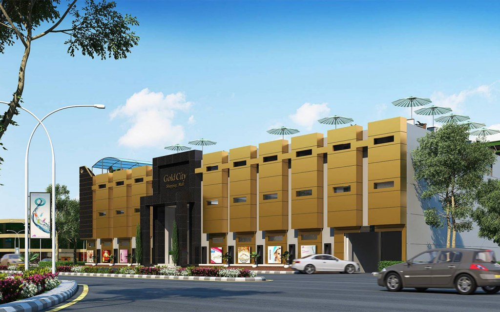 Gold City Shopping Mall in Quetta