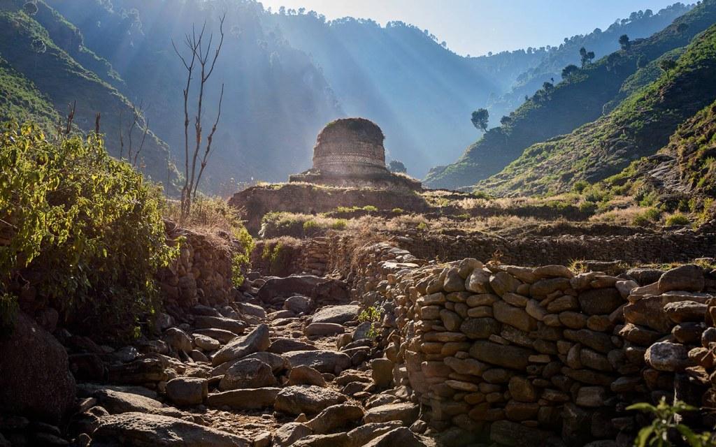 Ancient Gandhara Kingdom has traces in Pakistan
