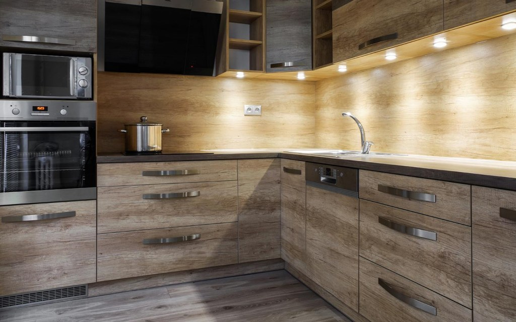 installing different types of under-cabinet lighting
