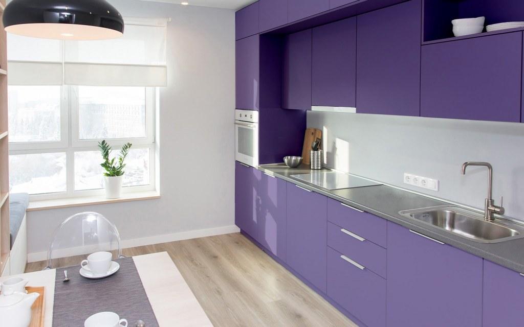 colour scheme and kitchen floor should match