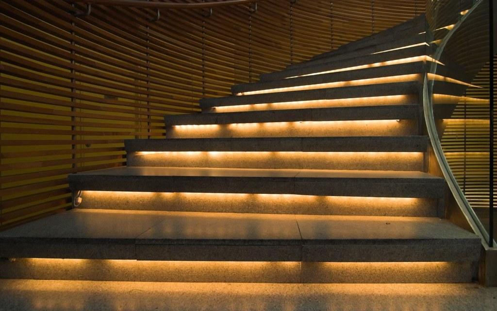 Illuminate Every Step of Stairway