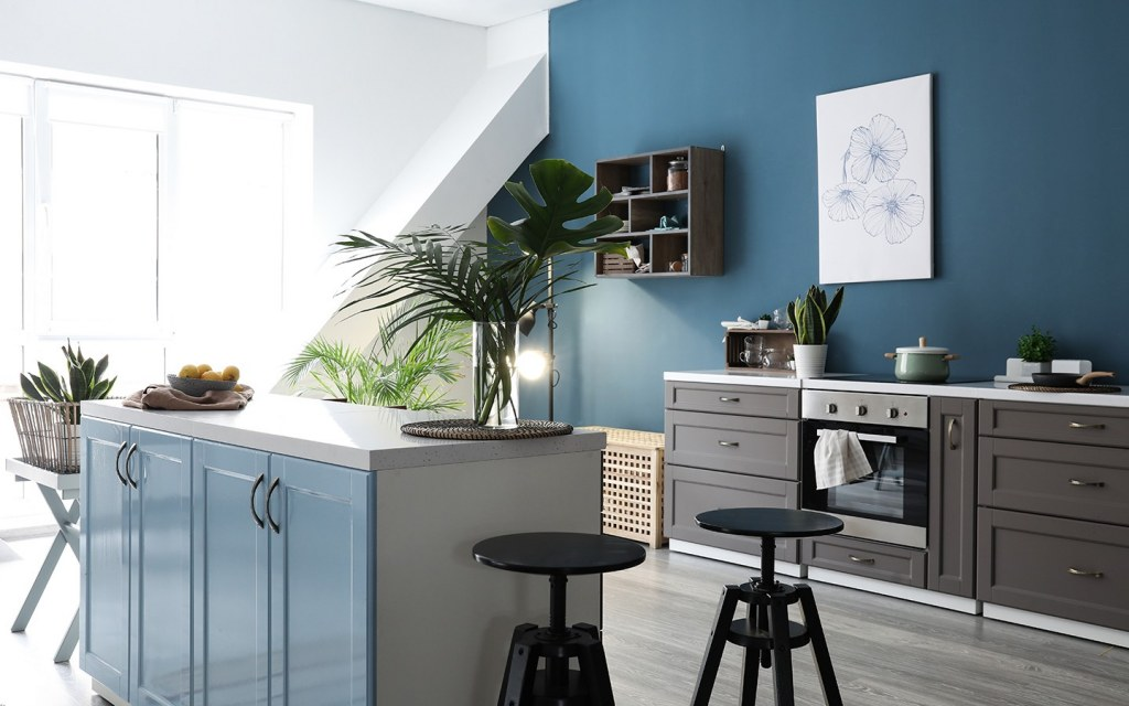 colouring walls of your kitchen